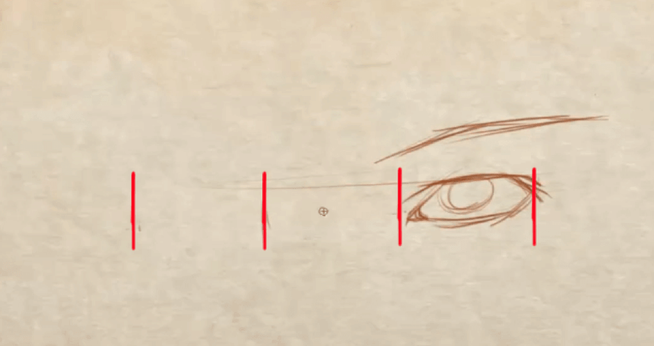 How to Draw Symmetrical Eyes 3 how to draw symmetrical eyes 01