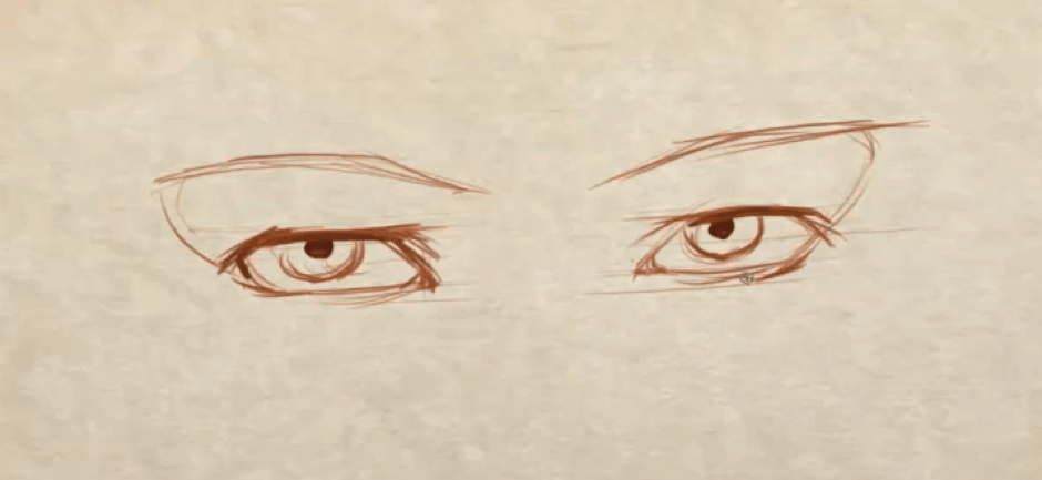 How to Draw Symmetrical Eyes 6 how to draw symmetrical eyes 04