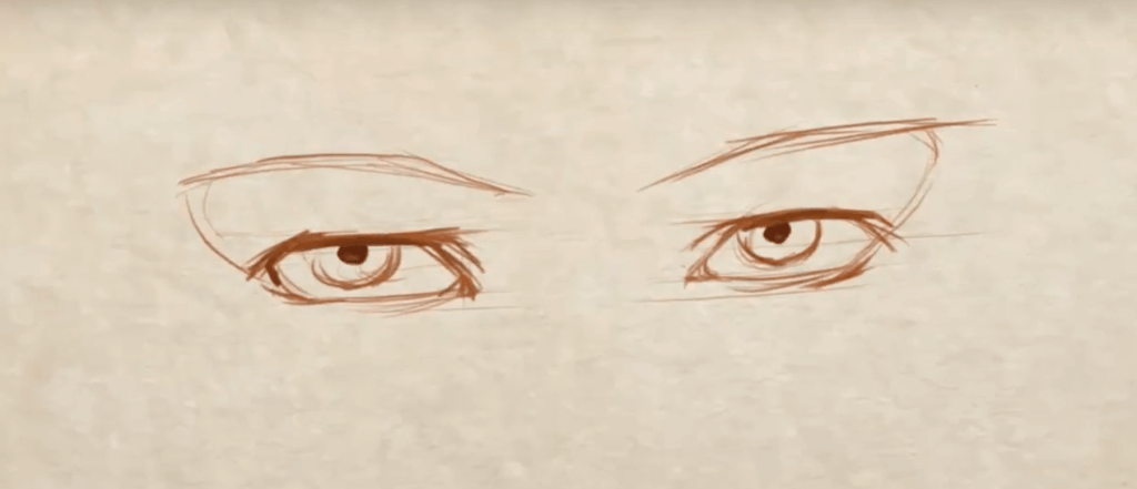 How to Draw Symmetrical Eyes 2 how to draw symmetrical eyes
