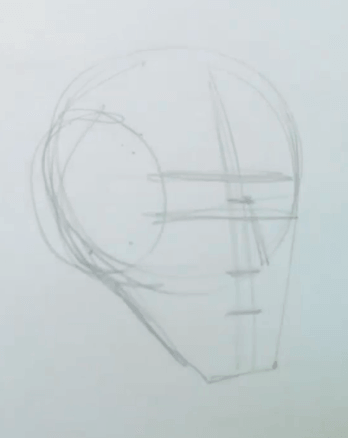 How to Draw the Planes of the Face 4 how to draw the planes of the face 02