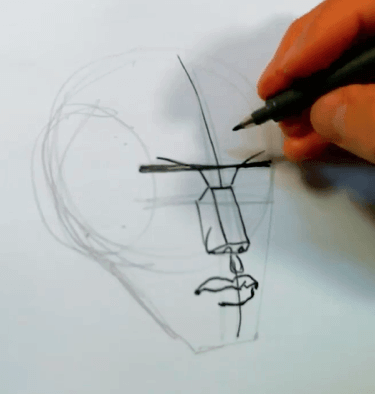 How to Draw the Planes of the Face 6 how to draw the planes of the face 04
