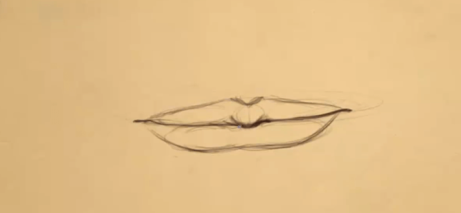 How to Draw the Lips 7 lips 4