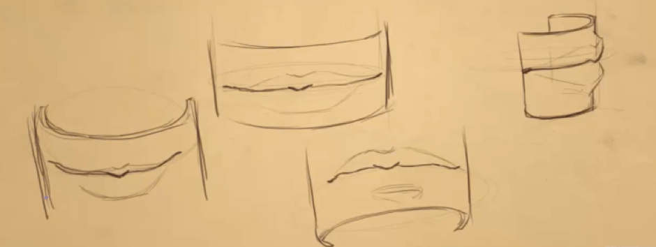 How to Draw the Lips 3 mouth 3