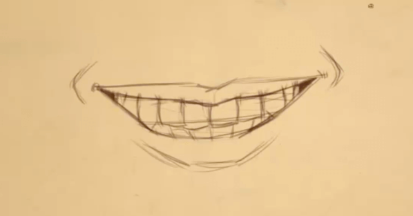 How to Draw Teeth 10 teeth 10