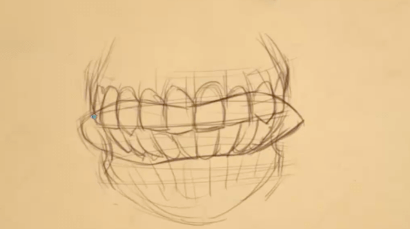 How to Draw Teeth 11 teeth 11