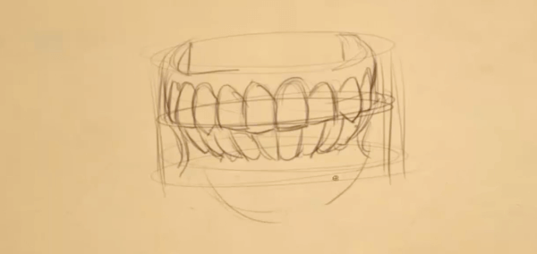 How to Draw Teeth 3 teeth 3