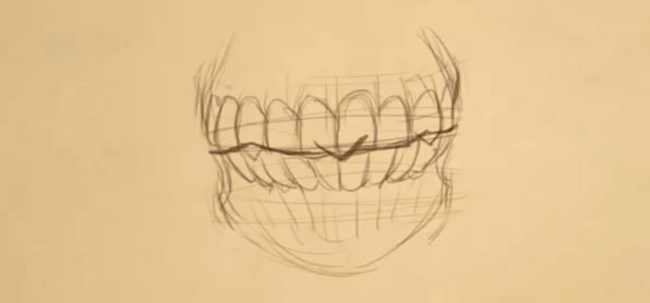 How to Draw Teeth 4 teeth 4