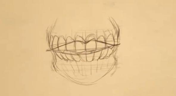 How to Draw Teeth 7 teeth 7