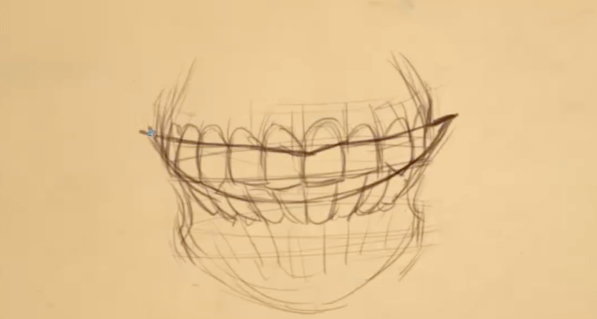 How to Draw Teeth 9 teeth 9