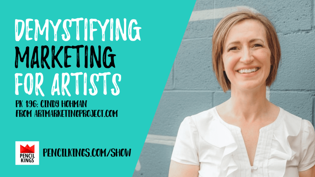 PK 196:  Marketing for Artists with Cindy Hohman 2 196 ArtMarketingProject 1920x1080 1