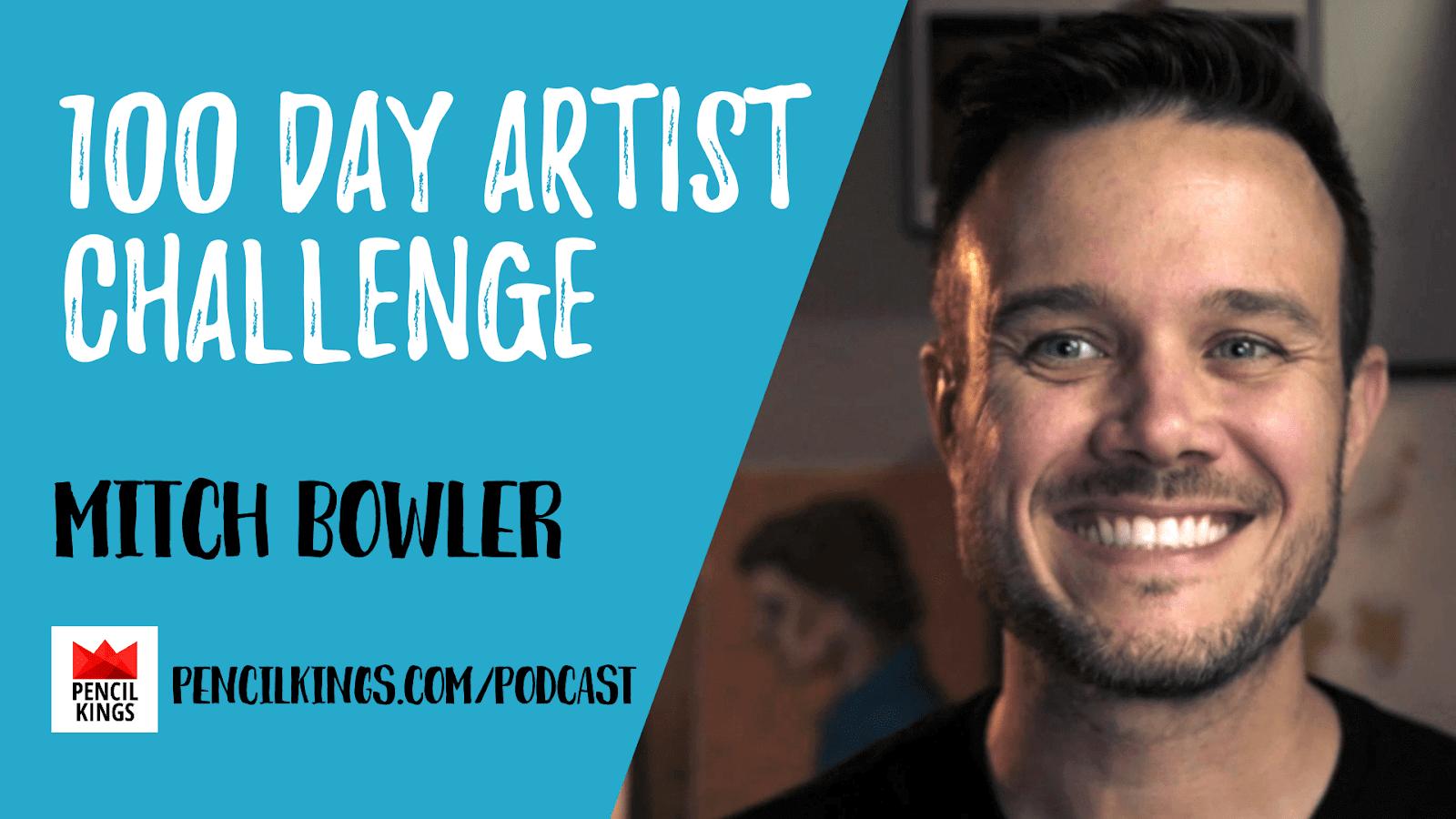 PK 221: 100 Day Artist Challenge 1 Mitch Bowler 1920x1080 1