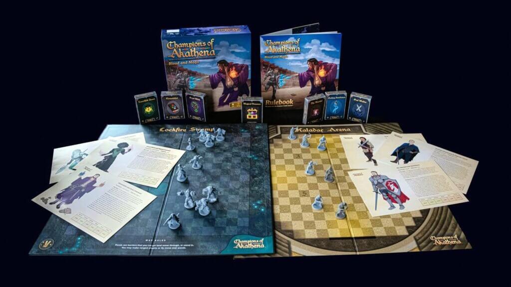 PK 243: Launching A Board Game on Kickstarter 12 champions of akathena